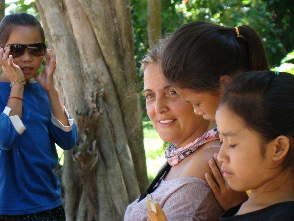 Niñas Laosianas